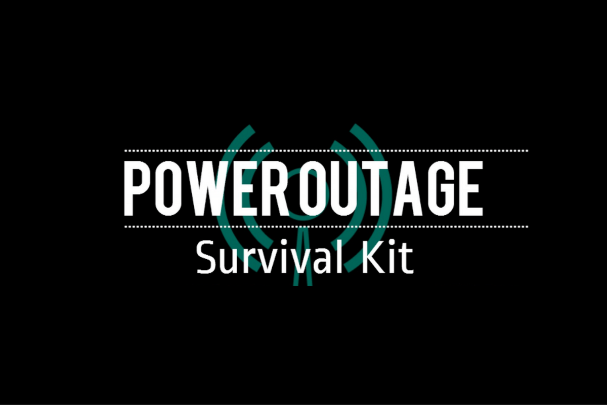 Power Outage Survival Kit Infographic Generator Power