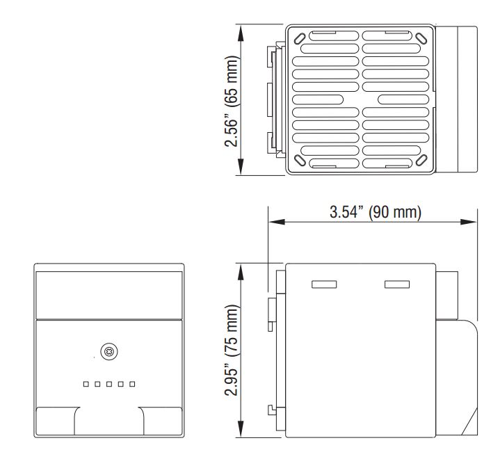 din rail mounting timers