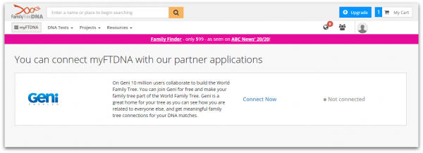 Geni Adds DNA to the World Family Tree