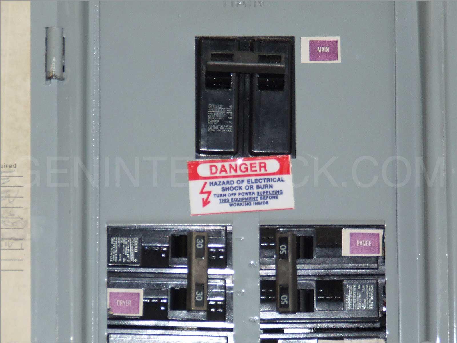 100 Amp Electrical Panel Wiring Diagram Gould Ite Siemens Thomas Amp Betts Generator Interlock