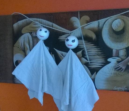 Lavoretti halloween: fantasma per decorare la casa | Genitorialmente