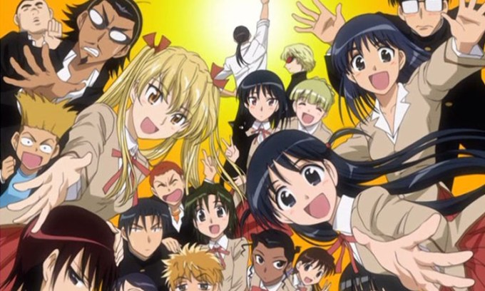 animes - School Rumble