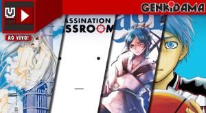 Mangá Quest - Chobits 01, Assassination Classroom 05, Magi 10, Kuroko no Basket 10