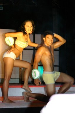 Pair #1: Magnolia Mae Lauron & Jonathan Ogayre