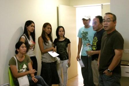 Tony V and the GenSan Bloggers