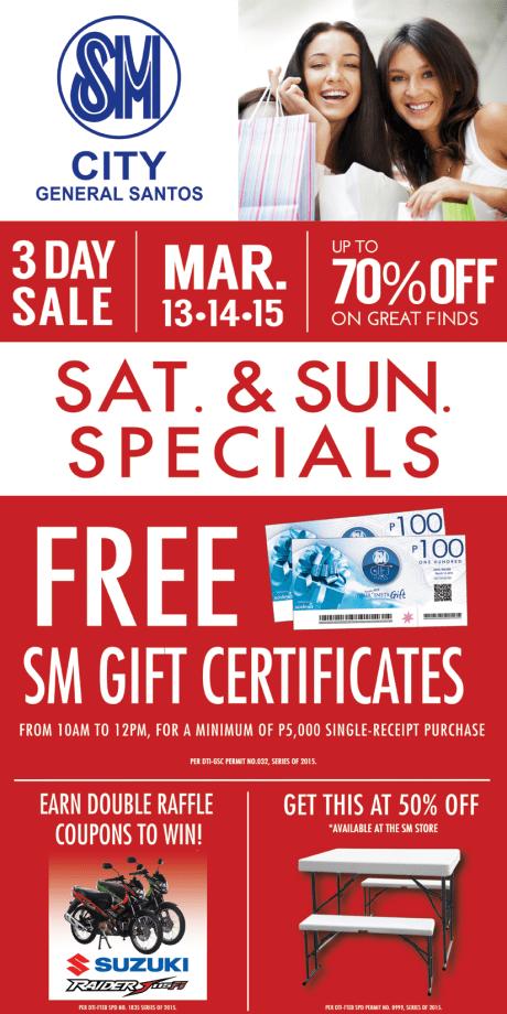 SM City Gen. Santos Sale