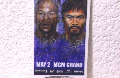 What does a $5000 Mayweather- Pacquiao Fight Ticket look like?