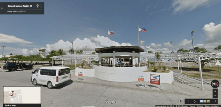 GOOGLE STREET VIEW, GENSAN AIRPORT