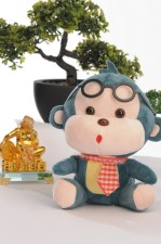 Adorable monkey plush toys from the Children's Accessories Department at the SM Store!