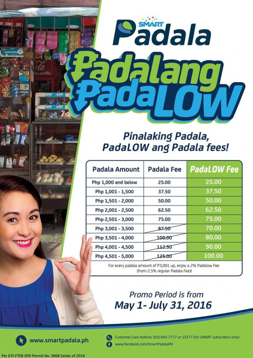 Smart Padala launches Padalang Padalow for the Pinoy Worker