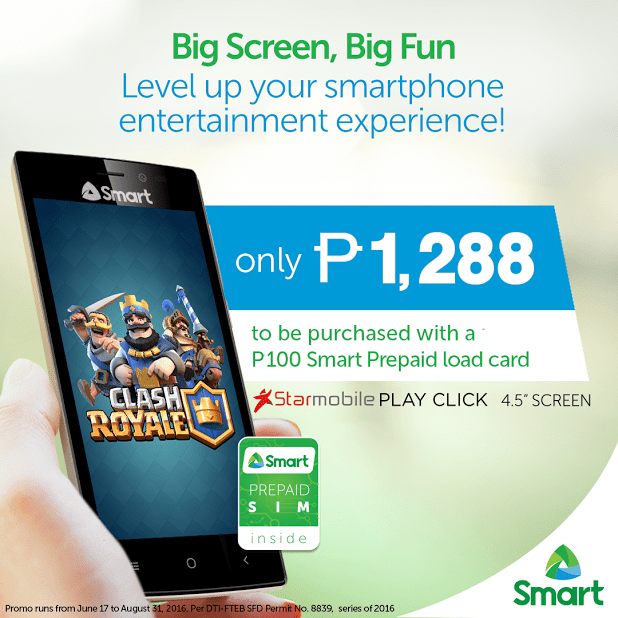 Smart, Starmobile launch 4.5-inch PLAY Click for only P1,288