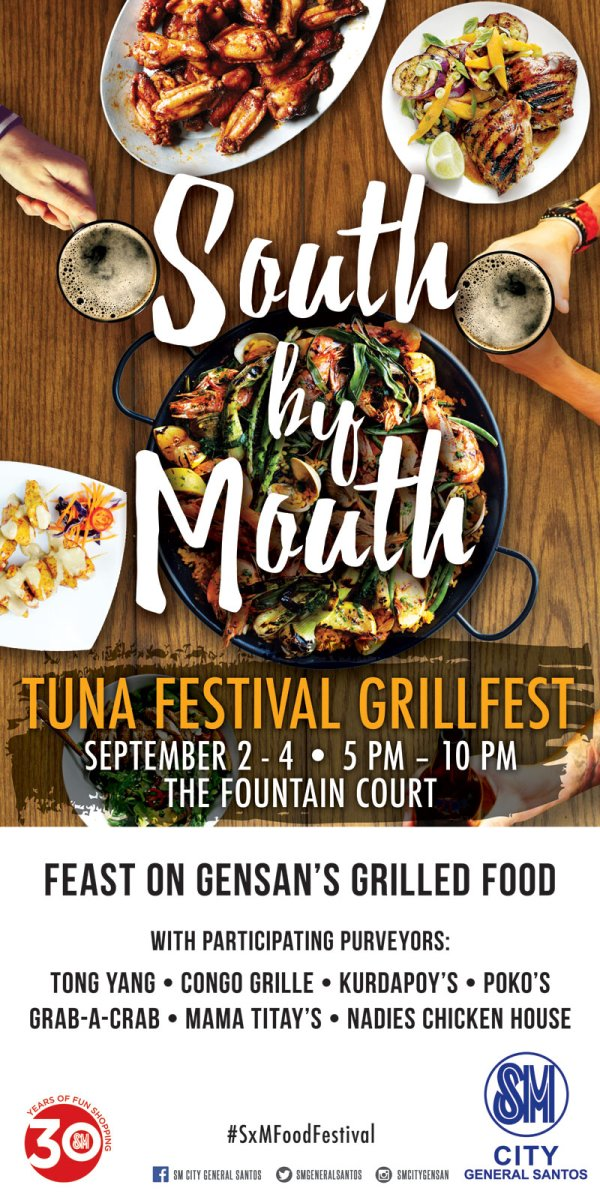 5 Ways to celebrate Tuna Festival 2016 at SM City General Santos