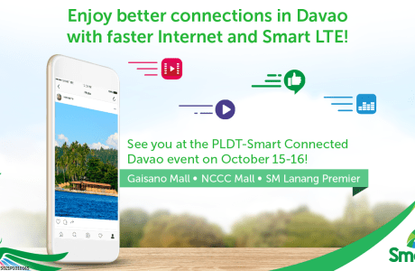 Celebrities, freebies, faster internet & gadgets fair at PLDT-Smart Connected Davao this weekend