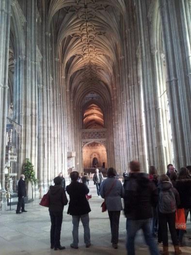 La navata centrale della Cattedrale