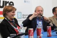 il professor Rodolfo Baggio e Cecilia Averame