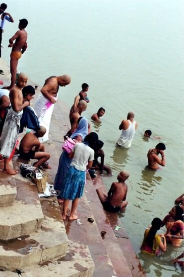 purificarsi all'alba India