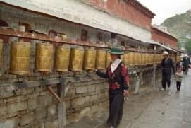 preghiera ruote Tibet