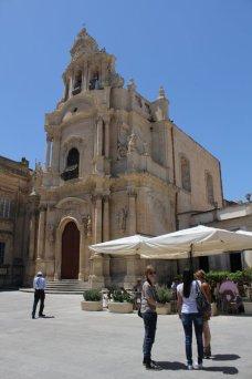 chiesa in centro storico ragusa ibla