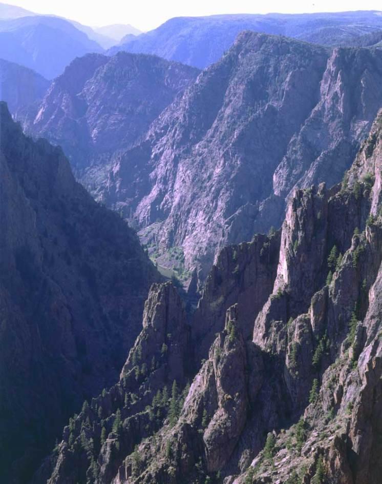 Black Canyon of the Gunnison Credit Stephen Alcorn parchi naturali colorado