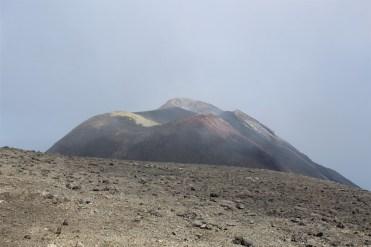 complesso del sud est visto dal cratere centrale