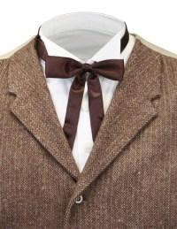 Deluxe Western Bow Tie - Brown