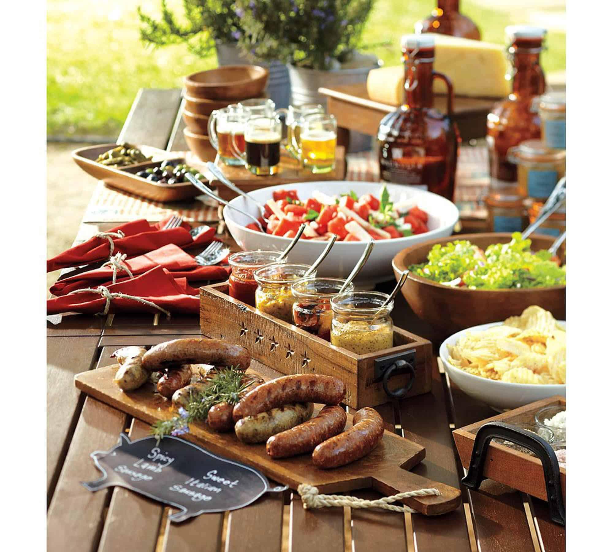 How to Host a Backyard Party & BBQ  Gentleman's Gazette
