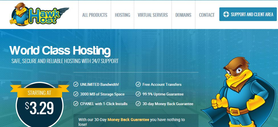 HawkHost Hosting Review