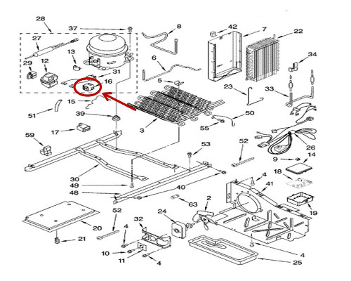 Whirlpool Part# 2319792 Start Device (OEM)