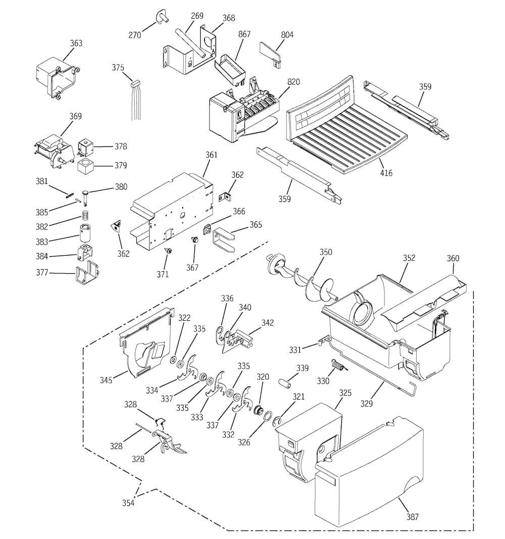 ice maker plug diagram