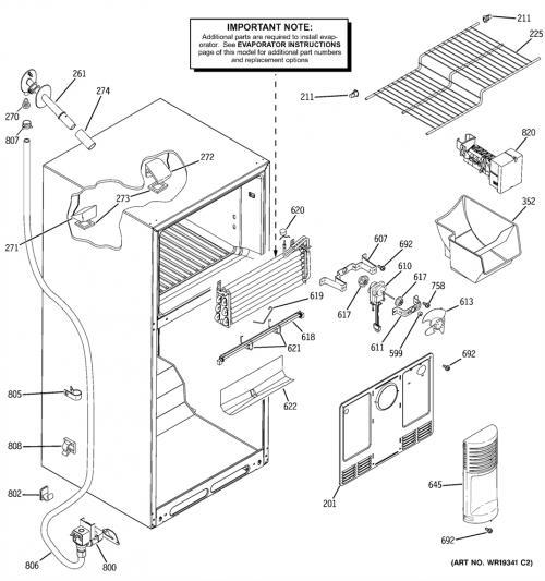 ge profile arctica wiring diagram