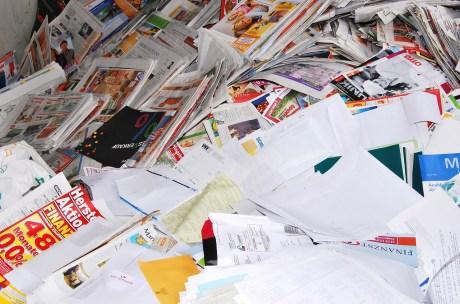Akten im Papiermüll - was kann schon passieren?