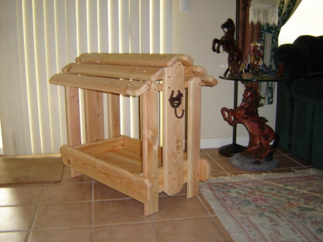 Countryside Woodworkswestern Custom Saddle Stands Racks