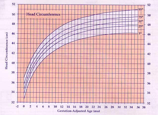 US Pediatric CDC Growth Charts - babies growth chart
