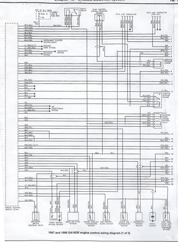 nissan ga16 wiring diagram