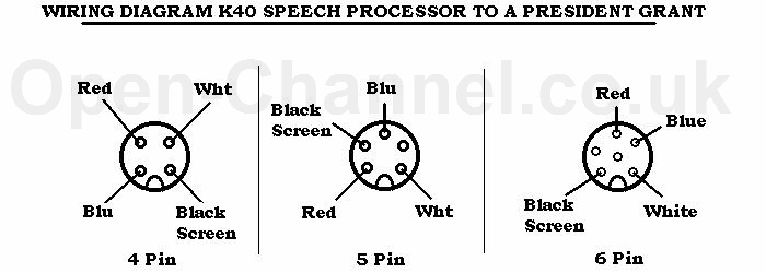 cb microphone wiring diagram 10 pin