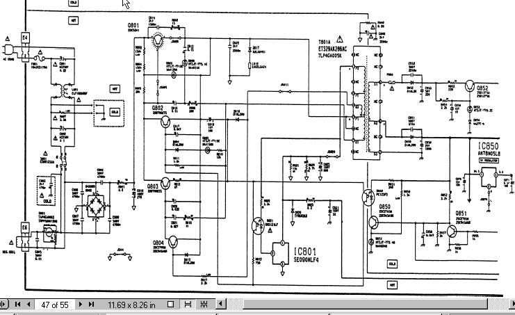 t.v block diagram