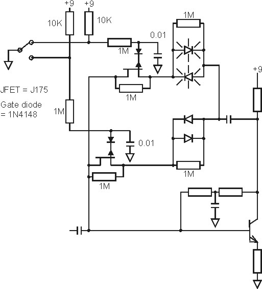 diode clipping switch