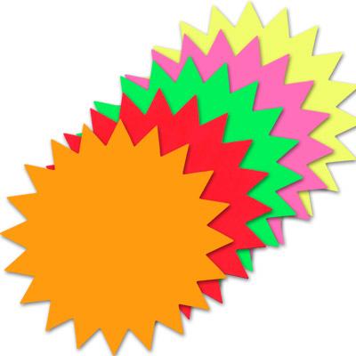 starburst signs template - Apmayssconstruction