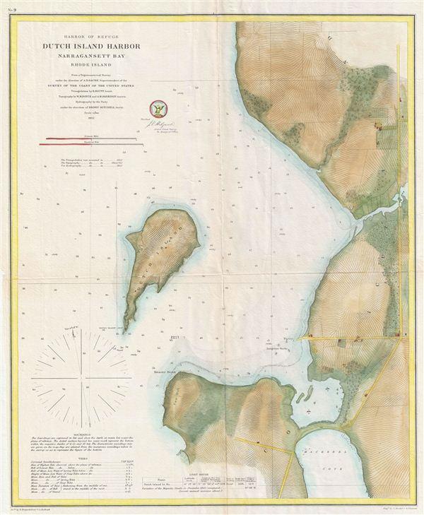 Harbor of Refuge Dutch Island Harbor Narragansett Bay Rhode Island