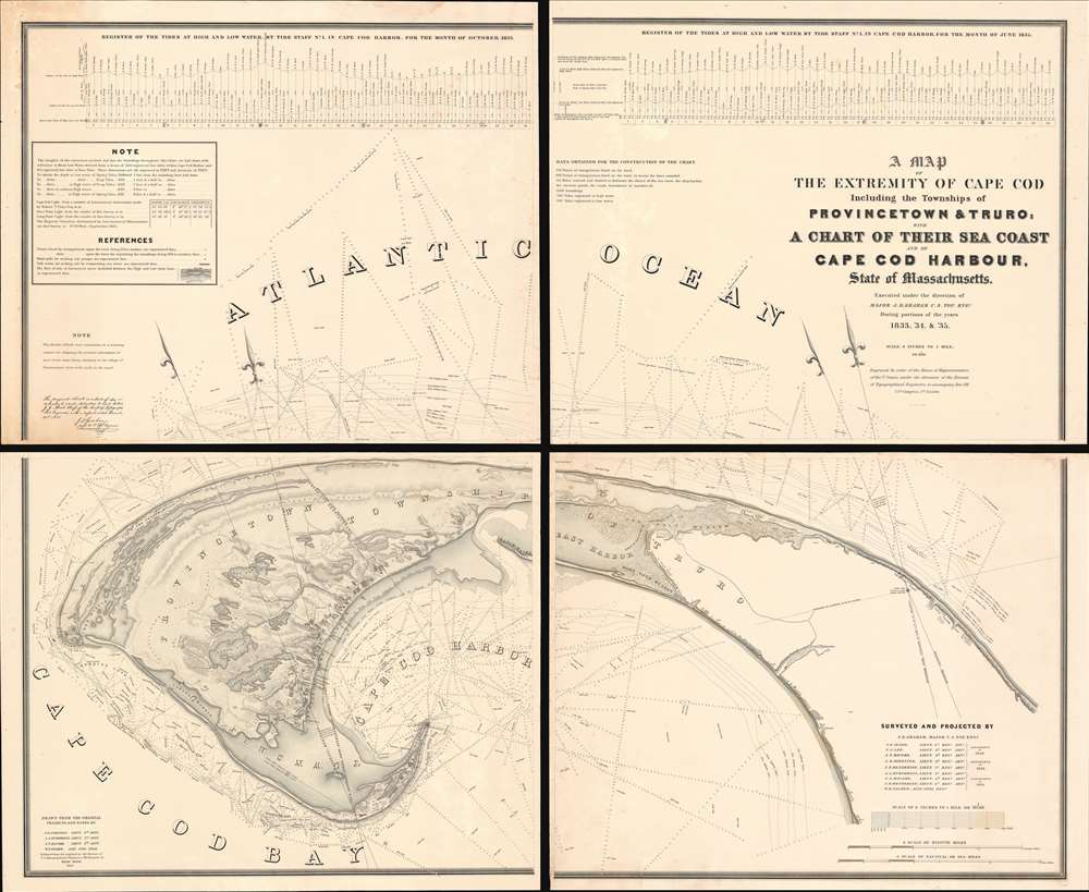 A Map of the Extremity of Cape Cod Including the Townships of