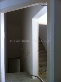 Main Entrance Door facing staircase (stairs) - Feng Shui ...