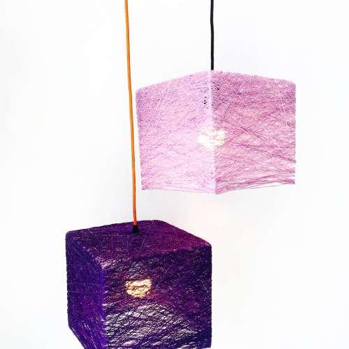 Lámpara de suspensión CUBE