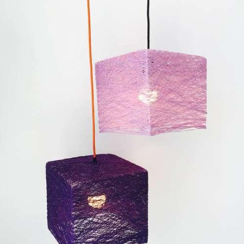 Cube lámpara de techo
