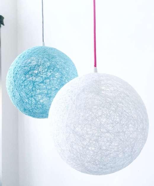 Lámpara de techo nórdica esfera