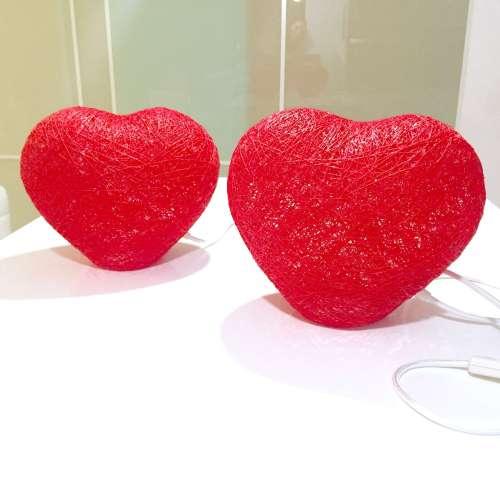 Lámpara de sobremesa HEART
