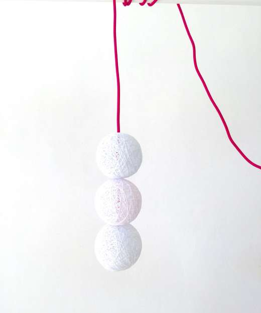 Lámpara colgante decorativa 3 BALLS