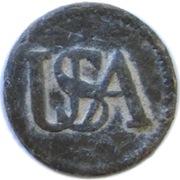 1777 Continental Army Enlisted Man's Pattern USA Pewter RJ Silverstein's Georgewashingtoninauguralbuttons.com O