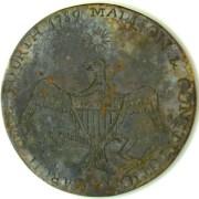 1789-1801 Madison New Nation Tribute Button rj silversteins georgewashingtoninauguralbuttons.com gcopy