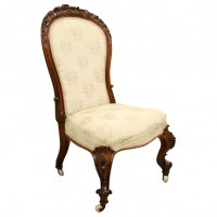 Mid Victorian Ladies Nursing Chair | Georgian Antiques