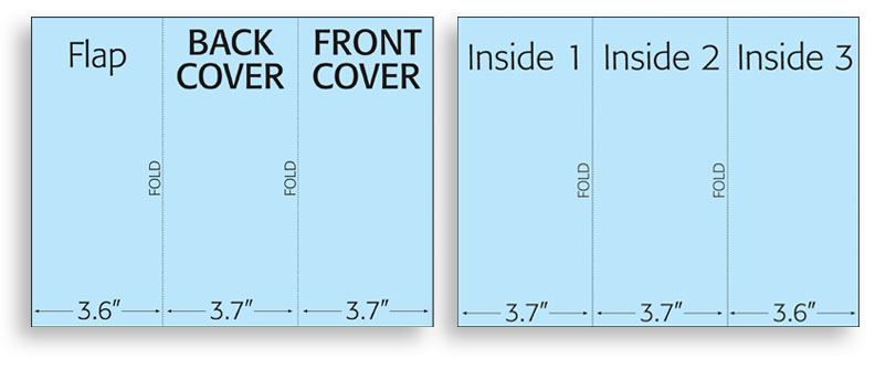 GNF Brochure Folding  Print Layouts